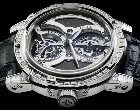 For the elite world s most expensive watch louis moinet watch set 4 6mil g5 environmental llc for Louis moinet watch